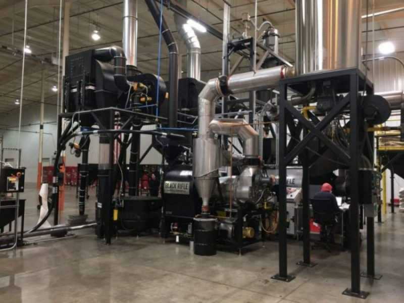 Black Rifle Coffee Company Opens Roasting Facility Featuring BURNS Roasters