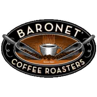 logo for baronet coffee roasters